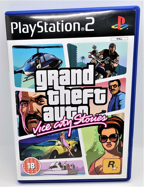 Grand Theft Auto: Vice City Stories for Sony PlayStation 2 PS2
