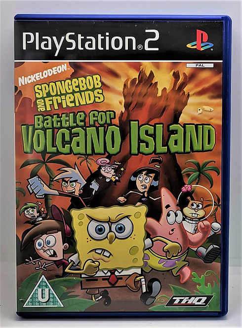 SpongeBob and Friends: Battle for Volcano Island for Sony PlayStation 2 PS2
