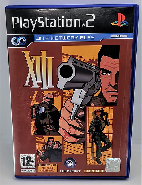 XIII for Sony PlayStation 2 PS2