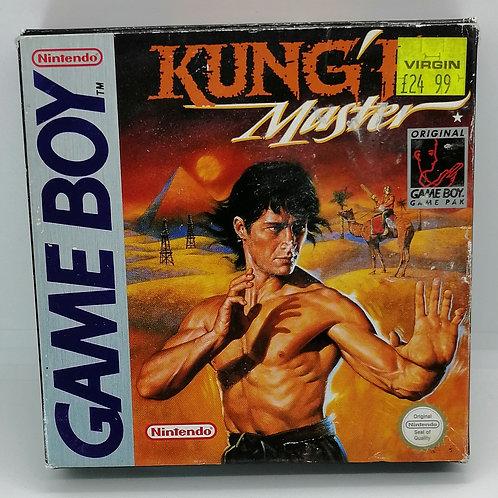 Kung-Fu Master for Nintendo Game Boy