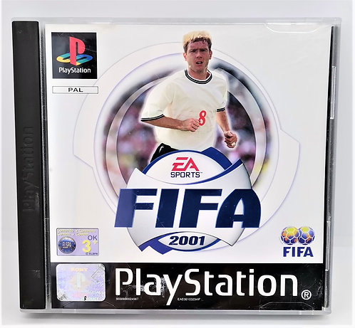 FIFA 2001 for Sony PlayStation PS1