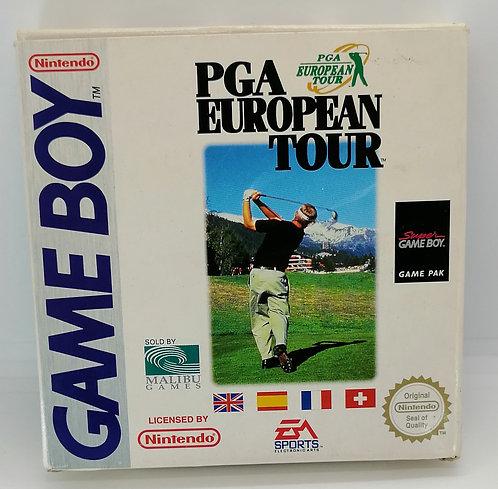 PGA European Tour for Nintendo Game Boy