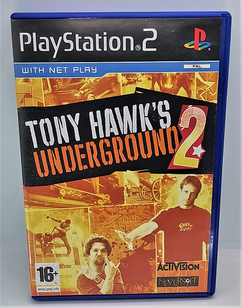 Tony Hawk's Underground 2 for Sony PlayStation 2 PS2