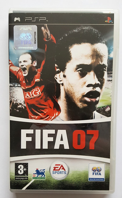 FIFA 07 for Sony PlayStation Portable PSP