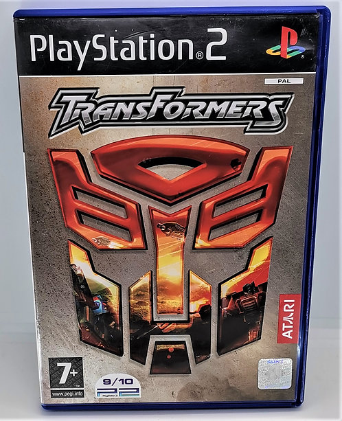 Transformers for Sony PlayStation 2 PS2