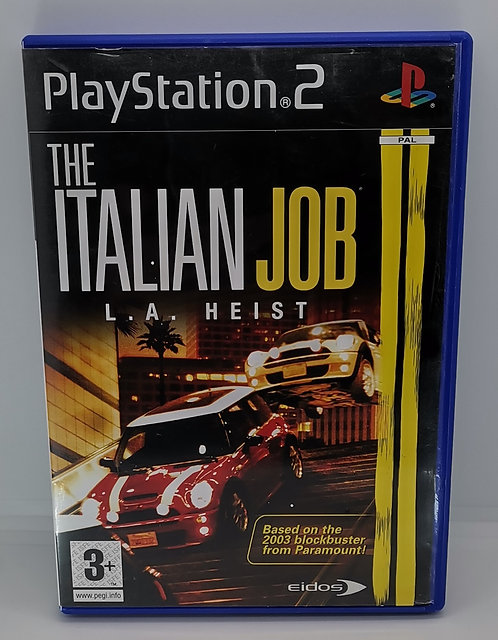 The Italian Job: L.A. Heist for Sony PlayStation 2 PS2