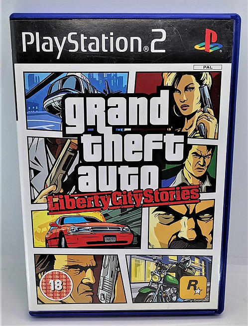 Grand Theft Auto: Liberty City Stories for Sony PlayStation 2 PS2