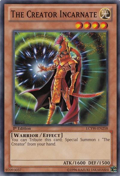 Yu-Gi-Oh! Card RDS-EN006 The Creator Incarnate 1st Edition