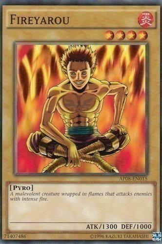 Yu-Gi-Oh! Card LOB-E067 Fireyarou