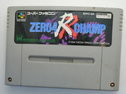 Zero4 Champ: RR for Nintendo Super Famicom