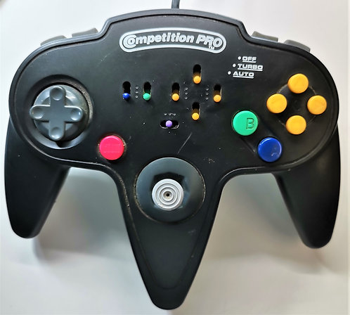 Competition Pro Turbo Controller for Nintendo N64