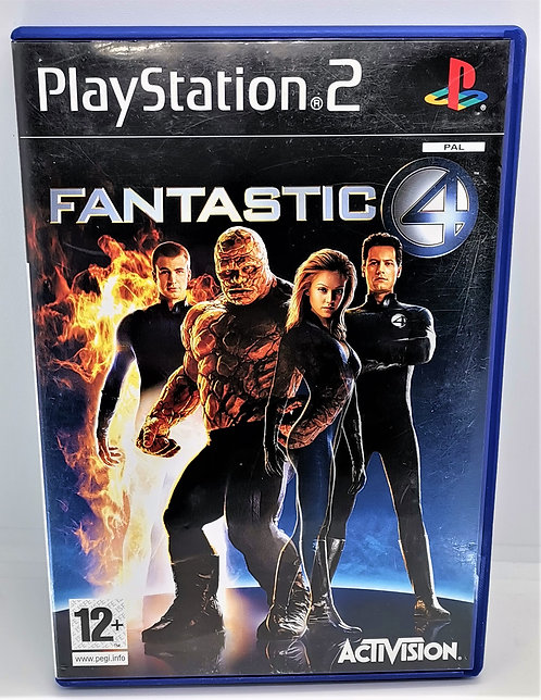The Fantastic Four for Sony PlayStation 2 PS2
