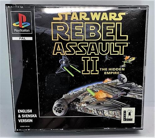 Star Wars: Rebel Assault II - The Hidden Empire for Sony PlayStation PS1