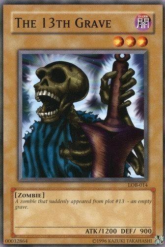 Yu-Gi-Oh! Card LOB-E010 The 13th Grave