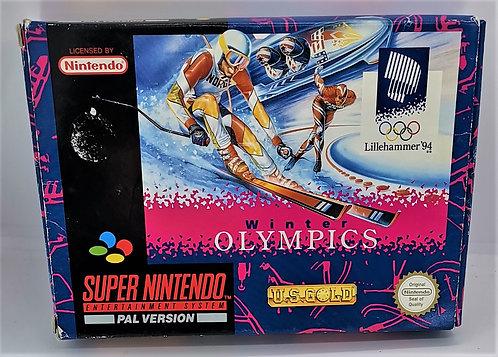Winter Olympics: Lillehammer '94 for Super Nintendo SNES
