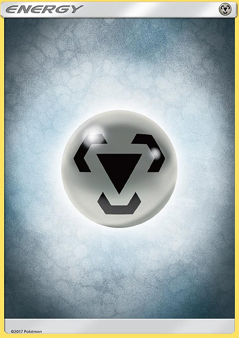 POKEMON Single Card SUN AND MOON - BURNING SHADOWS - Metal Energy
