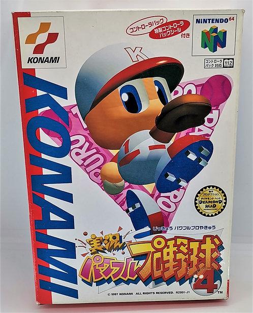 Jikkyou Powerful Pro Yakyuu 4 for Nintendo N64
