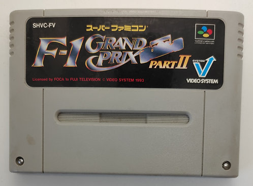 F-1 Grand Prix Part II for Nintendo Super Famicom