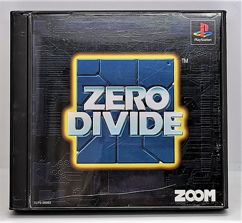 Zero Divide for Sony PlayStation PS1