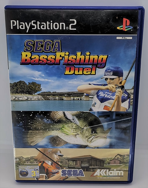 Sega Bass Fishing Duel for Sony PlayStation 2 PS2