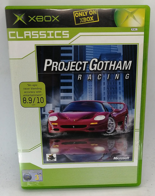 Project Gotham Racing for Microsoft Xbox