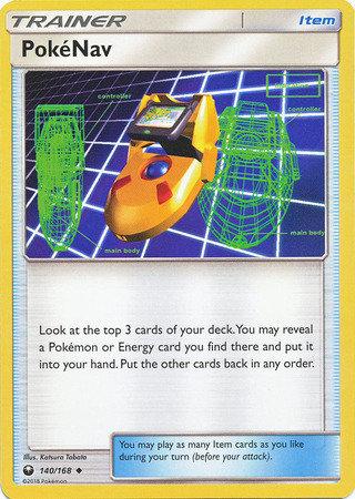 POKEMON Single Card SUN AND MOON - CELESTIAL STORM - 140/168 : PokeNav