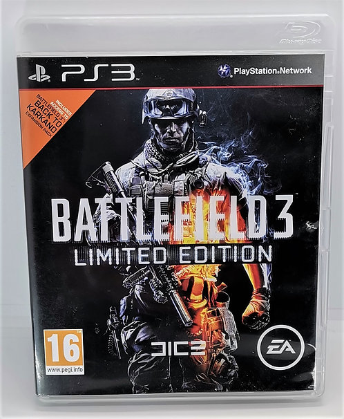 Battlefield 3: Limited Edition for Sony PlayStation 3 PS3