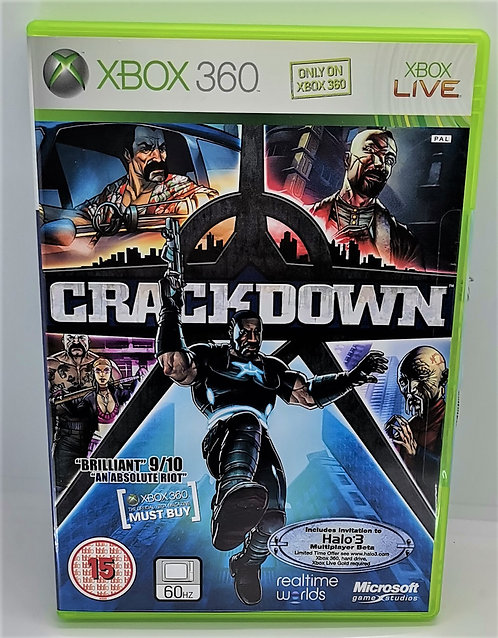 Crackdown for Microsoft Xbox 360