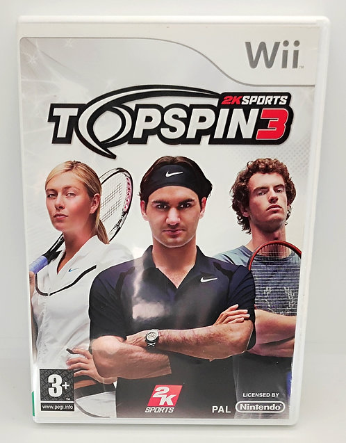 Top Spin 3 for Nintendo Wii