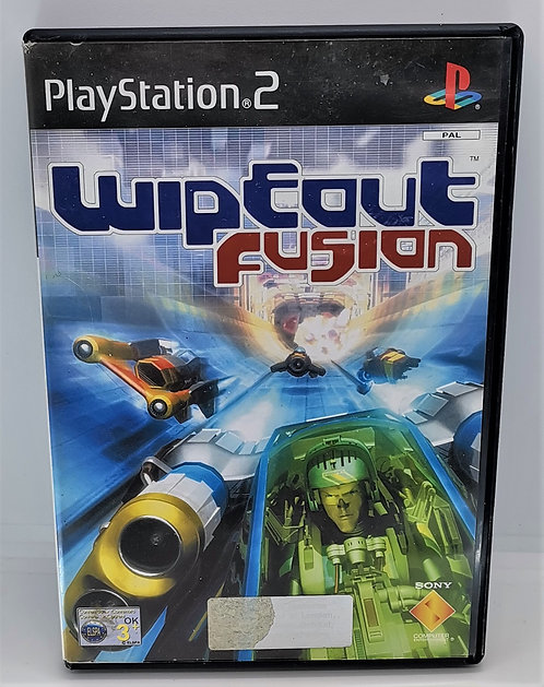 Wipeout Fusion for Sony PlayStation 2 PS2