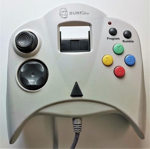 Surfin Advanced Controller for Sega Dreamcast (Orange/Clear)