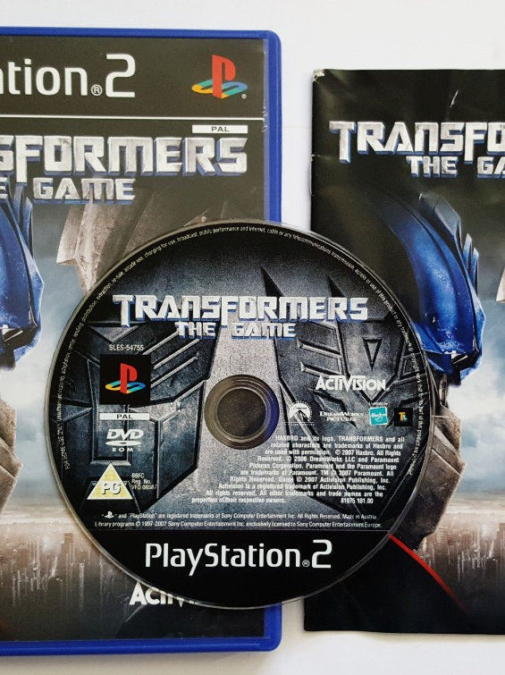 Transformers: The Game for Sony PlayStation 2 PS2