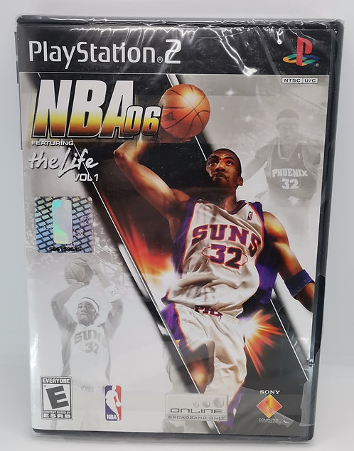 NBA 06: Featuring the Life Vol. 1 for Sony PlayStation 2