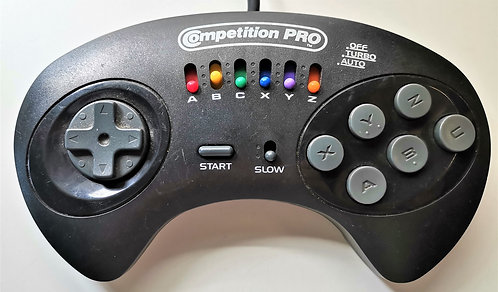 Honey Bee Competition Pro Turbo Controller for Sega Saturn