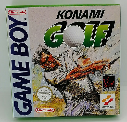 Konami Golf for Nintendo Game Boy