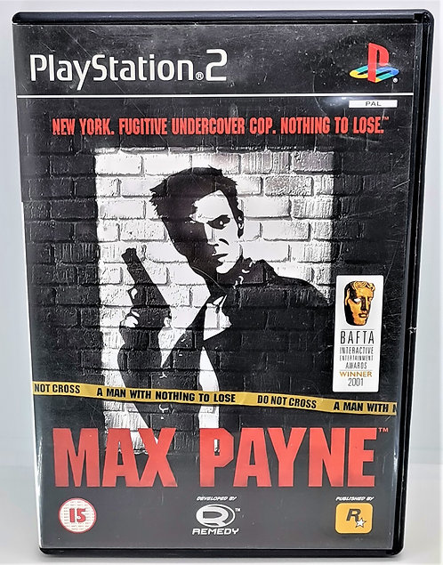 Max Payne for Sony PlayStation 2 PS2