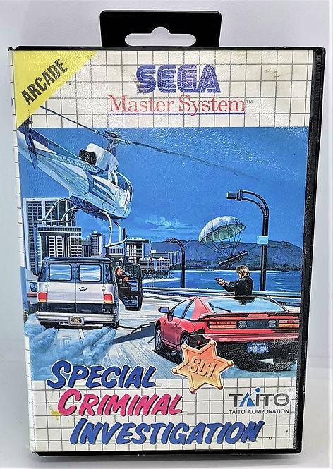 S.C.I.: Special Criminal Investigation for Sega Master System