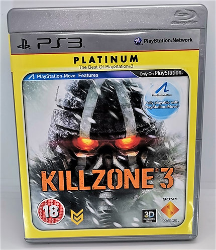 Killzone 3 for Sony PlayStation 3 PS3