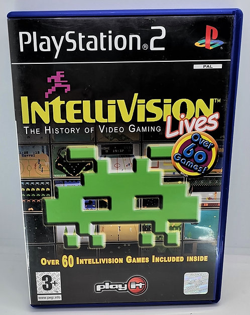 Intellivision Lives! for Sony PlayStation 2 PS2