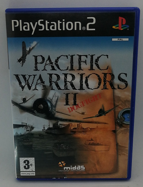 Pacific Warriors II (2): Dogfight for Sony PlayStation 2 PS2