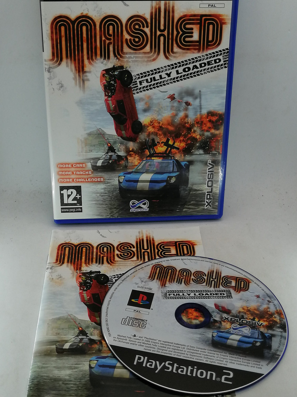 Mashed: Fully Loaded for Sony PlayStation 2 PS2