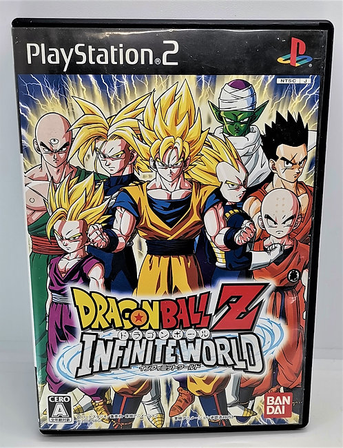 Dragon Ball Z: Infinite World for Sony PlayStation 2 PS2