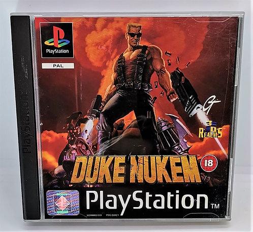 Duke Nukem for Sony PlayStation PS1