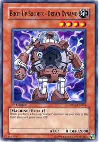 Yu-Gi-Oh! Card SD10-EN004 Boot-Up Soldier - Dread Dynamo 1st Edition