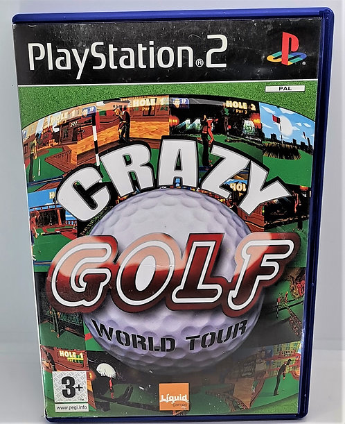 Crazy Golf: World Tour for Sony PlayStation 2 PS2