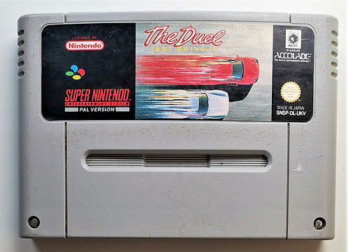The Duel: Test Drive II for Super Nintendo SNES
