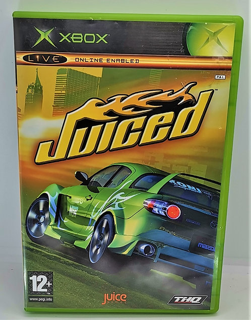 Juiced for Microsoft Xbox