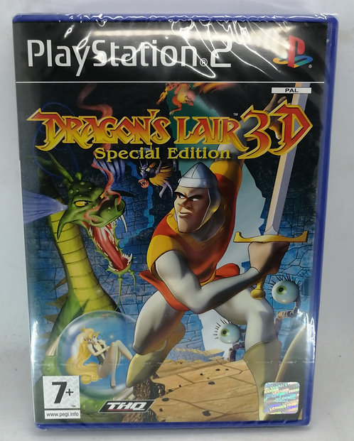 Dragon's Lair 3D: Special Edition for Sony PlayStation 2 PS2