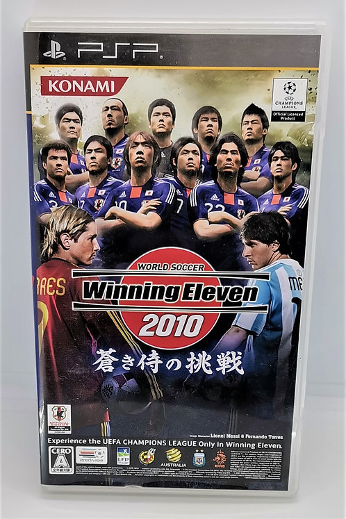 World Soccer Winning Eleven 2010 for Sony PlayStation Portable PSP