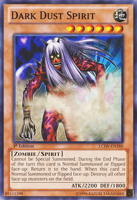 Yu-Gi-Oh! Card SD2-EN004 Dark Dust Spirit 1st Edition